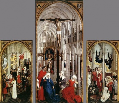 Rogier van der Weyden - Seven Sacraments Altarpiece - Royal Museum of Fine Arts Antwerp