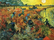 The Red Vineyards: Vincent Van Gogh
